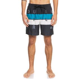 Quiksilver Word Block Volley 17 Shorts Herrer, sort